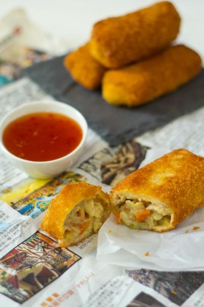 Indonesische kip risolles recept
