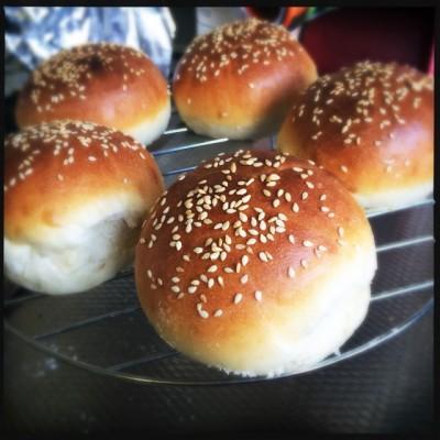 Hamburger broodjes recept