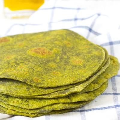 Gezonde spinazie wraps recept