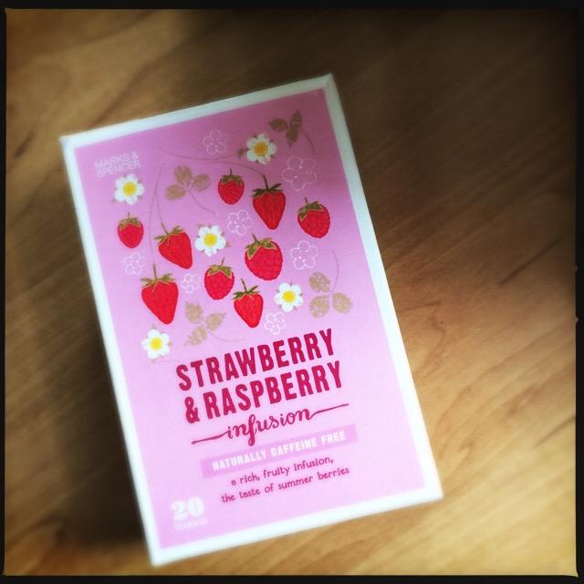 Strawberry en Raspberry thee