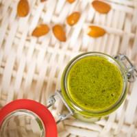 Recept rucola amandel pesto zelf maken