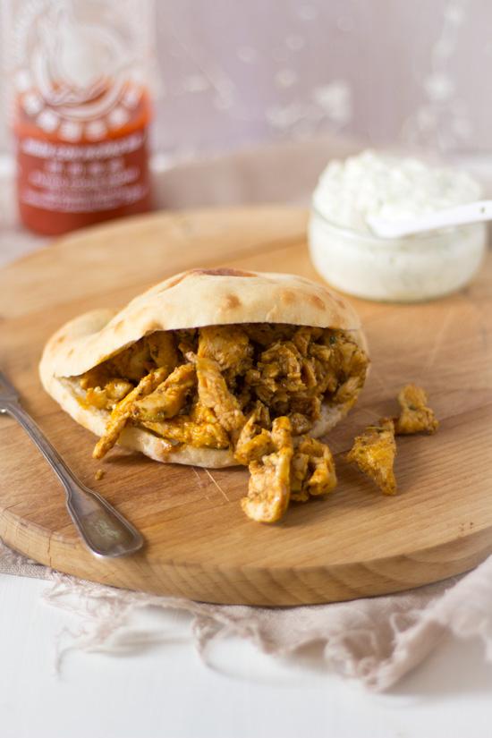 Broodje shoarma met kip recept