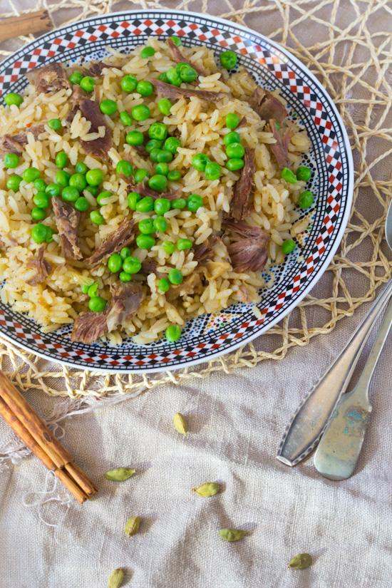 Recept lamsvlees pilav