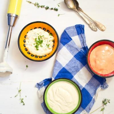 Snel simpel mayonaise maken met staafmixer