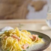 Retro recept Spaghetti carbonara