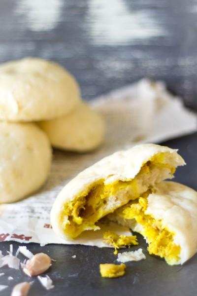 Gevulde gestoomde broodjes bapao kip recept