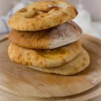 Platbrood pita zelf maken recept