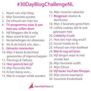 #30dayblogchallenge