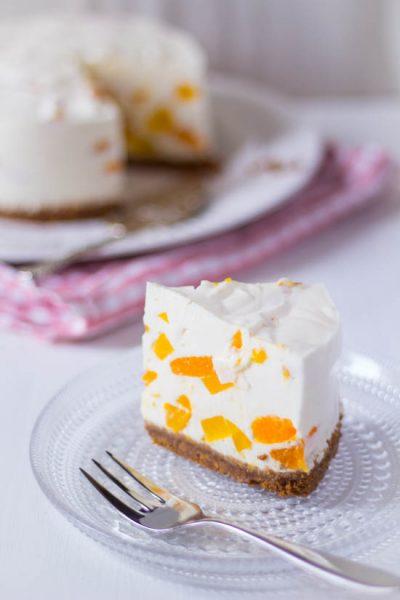 Kwark yoghurt taart zonder oven recept