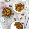 Winterse kruidige granola zelf maken