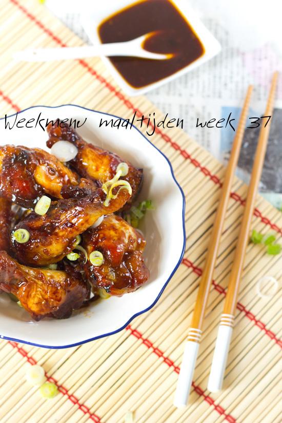 Weekmenu maaltijden week 37