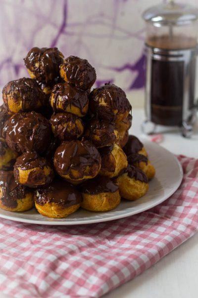 Recept chocolade soezen toren