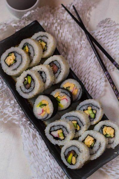 Zelf thuis sushi maken doe je zo