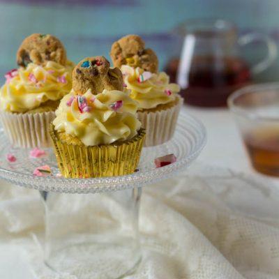 Cupcakes met Zwitserse botercreme recept