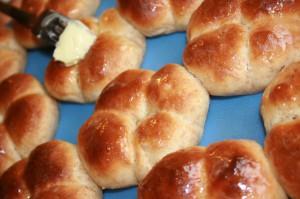 Volkorenbroodjes zelf maken en niet kneden