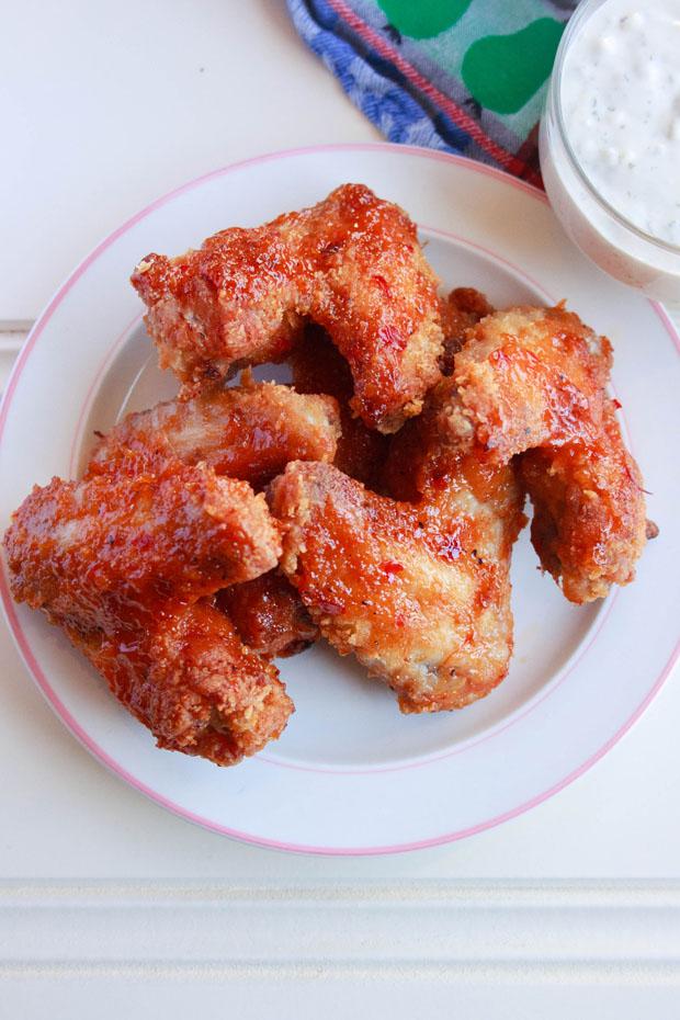 Buffalo Chickenwings - Pittige kipvleugels recept