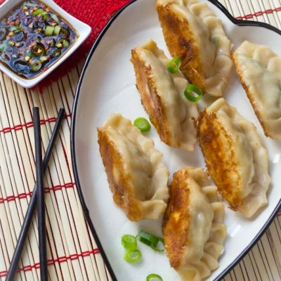 Recept potstickers Chinese snack