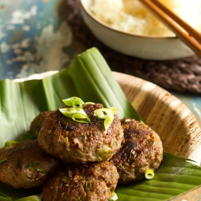 Recept Aziatisch gekruide gehakt burgers