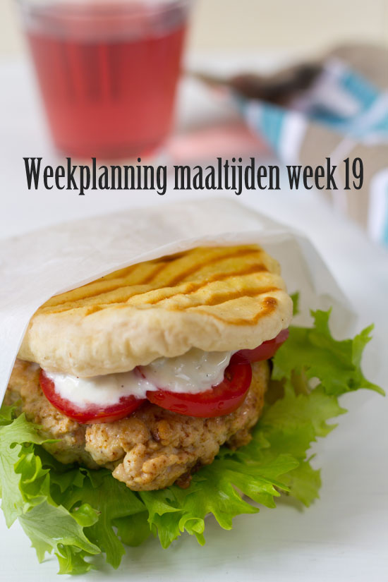 Weekplanning maaltijden week 19