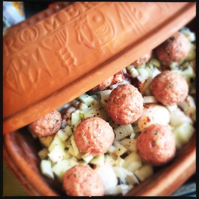 Rijke stoofschotel met vlees uit Macedonië