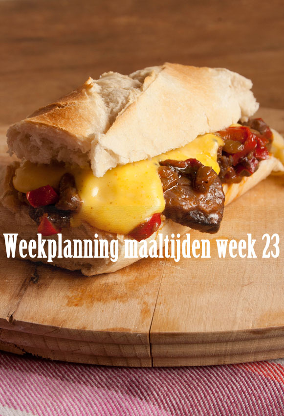 Weekplanning maaltijden week 23