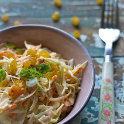 Amerikaanse coleslaw kool salade recept