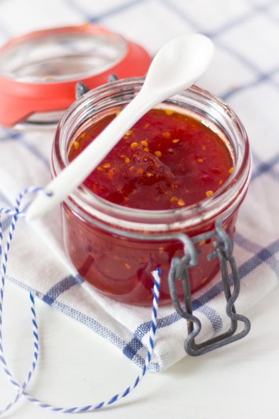 Pittige tomatenjam recept
