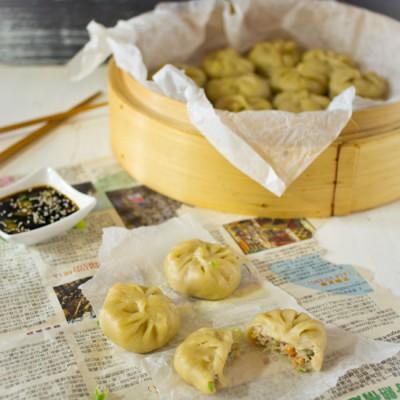 Gehakt garnalen dumplings recept