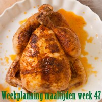 Weekmenu maaltijden week 47
