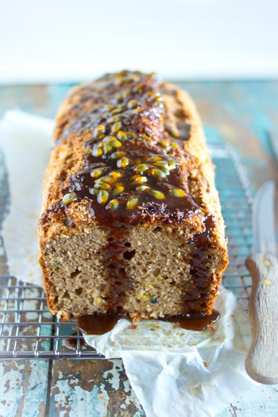 Glutenvrije passievrucht citroen cake recept