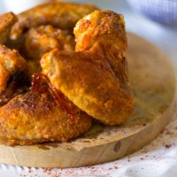 Krokante kip uit de oven recept