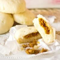 Recept pittige bapao gevuld gestoomd broodje