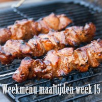 Weekmenu maaltijden week 15