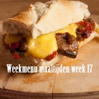 Weekmenu maaltijden week 17