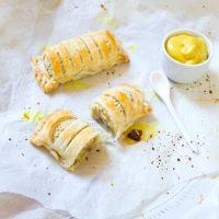 Kroket broodje met bladerdeeg zelf maken