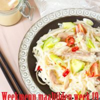 Weekmenu maaltijden week 19