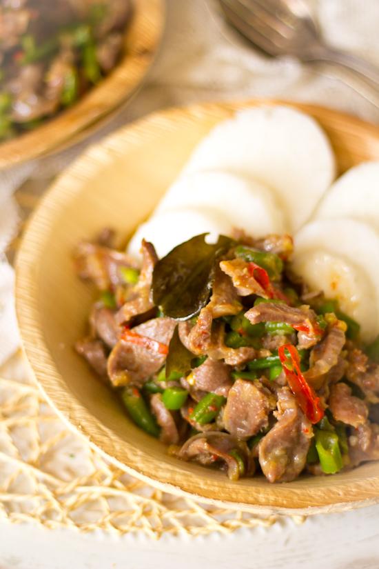 Recept pittige Indische kippenmaagjes