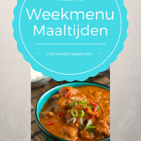 Maaltijden weekmenu week 49