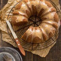 Recept pompoen tulband met icing van ahorn siroop