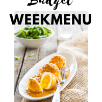 Budget maaltijden planning week 46