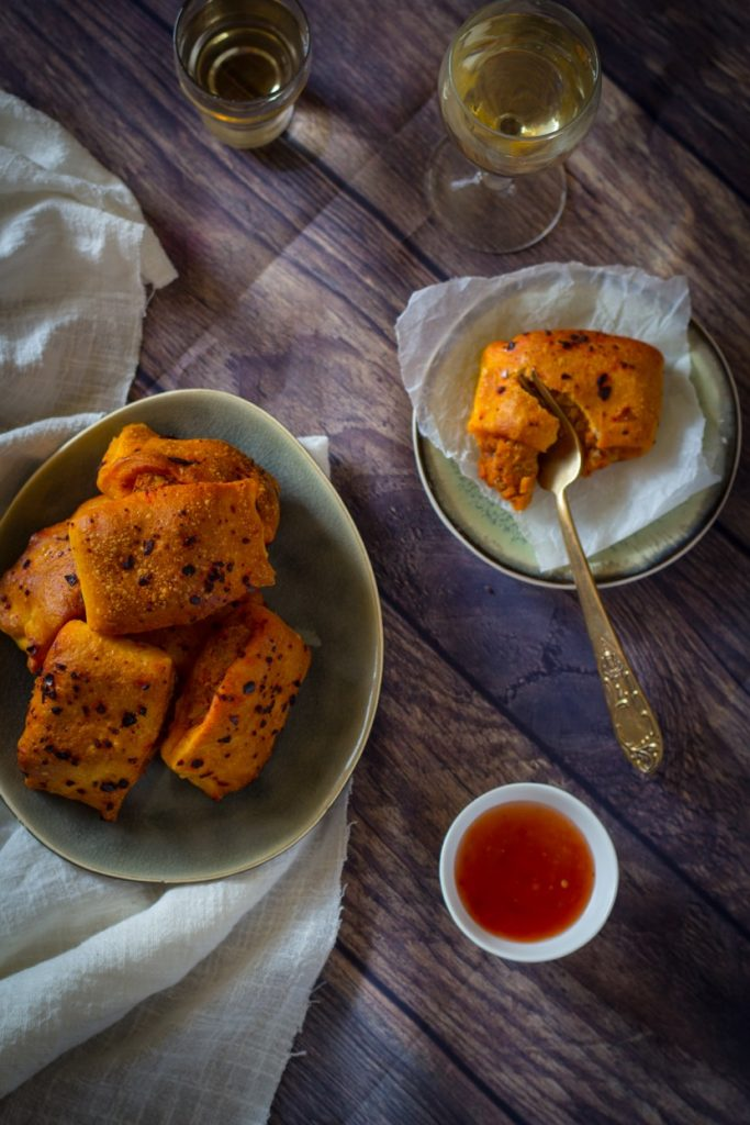 Pittige makreel broodjes recept